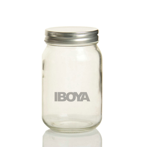 16oz Round Mason Jars/ Jam Jars with Silver/Gold Cap